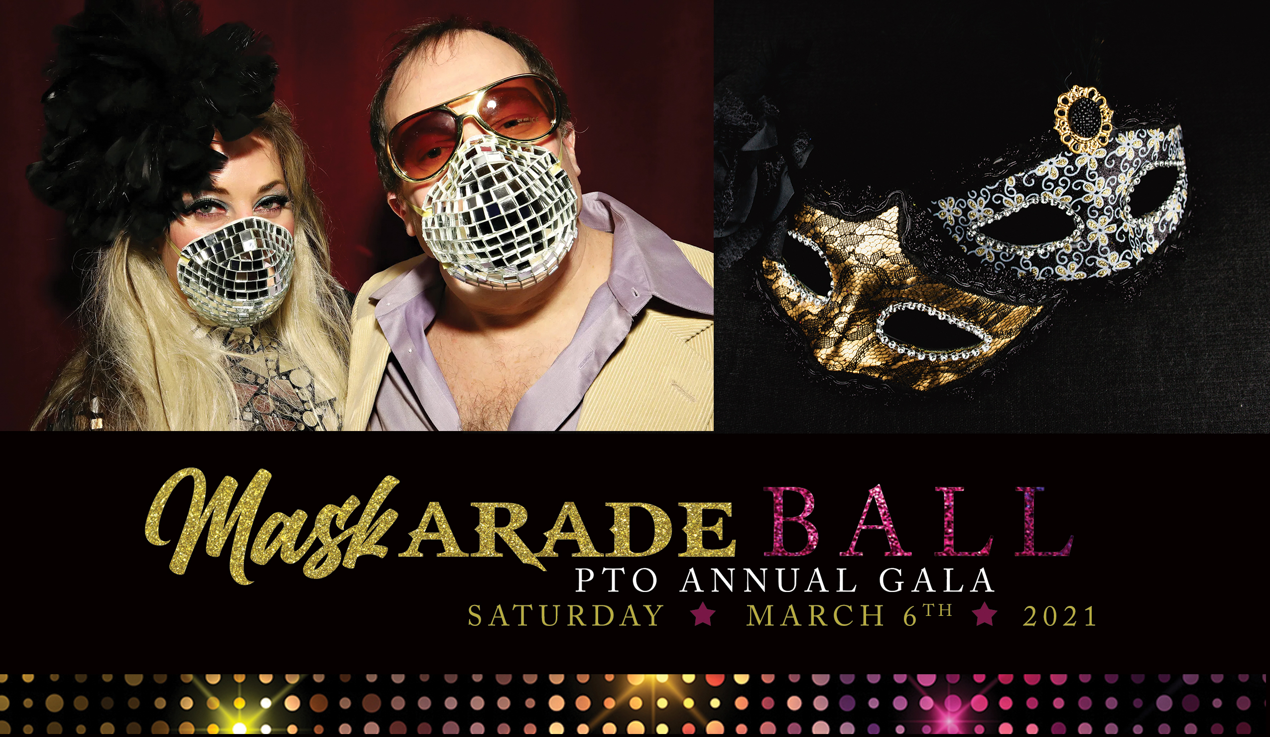 2021 Annual Gala | Mask-arade Ball